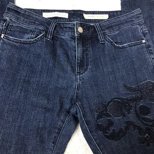 Pilcro and the Letterpress Jeans - Anthro Pilcro & Letterpress Hyphen Floral Jean 27